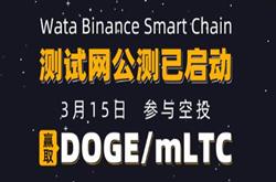【WATA】测试网公测免费空投狗狗币,最高可获得30000枚DOGE币,奖励将于活动截止后7个工作日内发放